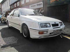 Ford Sierra RS500 (Harry3099) Tags: show heritage classic cars ford sports modern vintage engine fast super sierra motor supercar sportscar sportscars supercars 2015 rs500 atherstone
