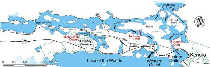 Rainy-Lake of the Woods: Tour of the Basin