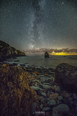 GUIDED-LIGHT (elganjones1) Tags: wales jones lowlight nightscape cove ngc north astro nightshoot astrophotography serene canoneos colyn milkyway anglesey rhos elgan canon6d