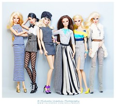 Walk The Line (Michaela Unbehau Photography) Tags: mannequin studio toys photography model doll dolls fotografie walk stripes line clear lan giselle mode fashiondoll royalty michaela streifen fahion integrity pupe diefendorf nuface ateliernishasha unbehau