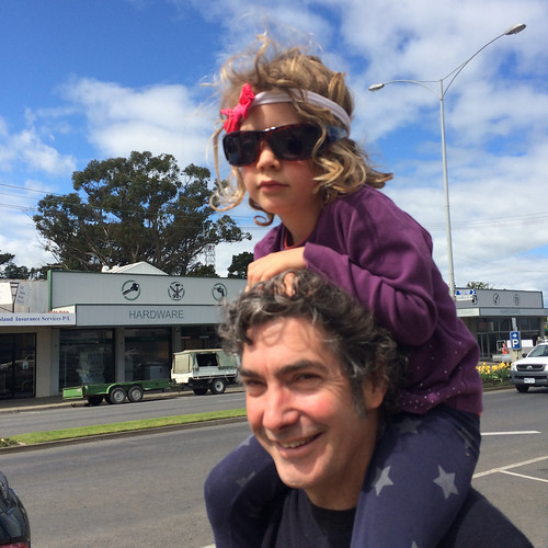 The cool kid in her dad's sunglasses: Leongatha