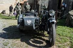 Plumlov 2015 - Fall of Berlin (The Adventurous Eye) Tags: wwii ww2 typical reenactment sidecar wehrmacht 2015 plumlov pd fallofberlin berlna