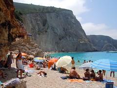 Lefkada Island, Greece (ForceMajeureMontenegro) Tags: sea beach strand greece spiaggia yunanistan lefkada ギリシャ ελλάδα katsiki paplūdimys greqi λευκάδα grezian грэцыя গ্রীস теңіз