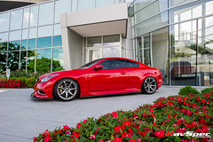 "WORK Emotion T7R on Infiniti G37 • <a style=""font-size:0.8em;"" href=""http://www.flickr.com/photos/64399356@N08/22126429836/"" target=""_blank"">View on Flickr</a>"