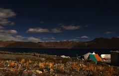 Pangong TSO (nitinsdesai) Tags: india mountain lake night star tso leh ladakh pangaong