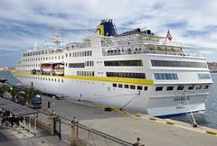 Hamburg (albireo 2006) Tags: cruise harbor ship harbour hamburg cruising malta quay wharf cruiseship cruiseliner grandharbour plantourskreuzfahrten