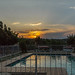 Swimingpool Sunset