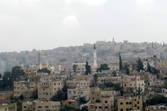View from South Side of Jebel Amman (jrozwado) Tags: asia minaret amman mosque jordan islamic    jebelamman