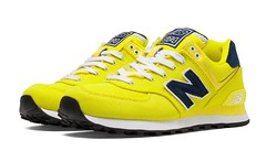 NB WL574POI Womens New Balance Pique Polo Yellow Navy Sneakers (RobertThrashy) Tags: beautiful shopping chic runner runningshoes coupon womensshoes retrostyle popshoes shoppingonline newbalance574 fashionsneakers intrend girlsrunningshoes storediscount