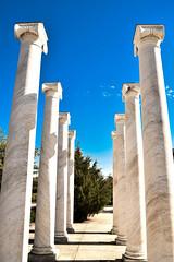 the eight (Ryland NS) Tags: blue sky monument skyline architecture marine memorial outdoor pillar columns navy maryland column annapolis pillars eight colonnade