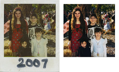 cardli_redo_midlandbeach_20130413_004_RIP_KAv1_st_splice (CARE for Sandy) Tags: charity costumes red fall halloween smiling standing photoshop children pumpkin skeleton polaroid outside outdoors happy wings october transformation princess sister witch brother hurricane group dressup siblings ladybug restoration date beforeandafter volunteer damaged photorestoration beforeafter 2007 c1 hurricanesandy superstormsandy