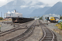 Seward Yard (sullivan1985) Tags: trip alaska ak september seward thefinalfrontier 2015 emd sd70mac electromotive