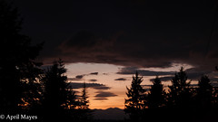 Cascade Sunset (April A Mayes) Tags: sunset cascademountainrange