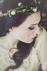 Joanna (bernadetakupiec) Tags: winter portrait woman home girl face rose hair bathroom sadness eyes skin january atmosphere joanna 2015