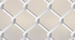 Prison Wallpaper (Karm Redland) Tags: wallpaper white fence prison whitefence prisonwallpaper