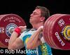 09_ZAICHIKOV Alexandr KAZ 105kg (Rob Macklem) Tags: world bronze texas houston olympic weightlifting championships kaz medalist 94kg zhassulan kydyrbayev