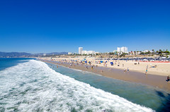 Santa Monica Pier (Chaminda.A) Tags: california pier unitedstates santamonica socal beaches eastcoast tokina1116mm28 nikond7000