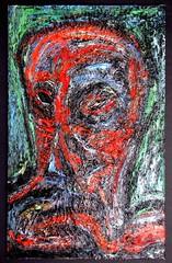 painting 90s oil on hdb hangman of sheffield