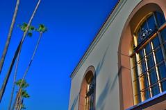 Portales (MPnormaleye) Tags: california window station tile la arch terminal palm transportation utata unionstation hdr 18mm strees photomatix