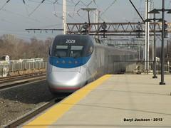 Amtrak 2028 (GhostStationPA86) Tags: railroad philadelphia electric train publictransit unitedstates pennsylvania amtrak masstransit alstom highspeed acela bombardier