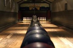 (willpulford) Tags: shadow lines canon pub edinburgh games nagshead bowling symmetrical skittles 1200d