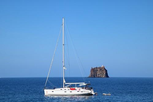 Strombolicchio, îlot volcanique inhabité