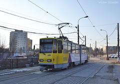 106 - 101R - 18.12.2016 (VictorSZi) Tags: romania ploiesti potsdam tram tramvai tatra tatrat4kd tce winter iarna decembrie december nikon nikond3100