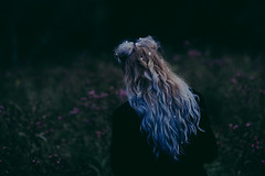 Erin (Jameykay) Tags: model mountains flowers 90s vintage clothes stylist jameykay lavender hair sunset