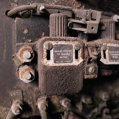 At Sloss Furnace (plasticfootball) Tags: slossfurnace birmingham alabama machinery rust patent
