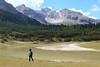 Lago de Rudo (Tabboz) Tags: montagna trekking escursione cammino acqua cielo cima sentiero valle erba pini natura panorama vetta estate dolomiti parco salita traversata