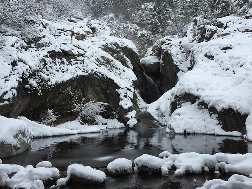Winter Cold Temperature Nature Snow Tranquility Frozen Beauty In Nature Non-urban Scene Water Ice Weather Tranquil Scene No People Day Scenics Outdoors Waterfall Mountain River River Cold Days Copy Space IPhone IPhoneography Frozen Tranquility