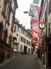 Découverte de l'Est (Antoine Desloges Studio) Tags: noel bâle suisse frontière rhin fleuve marche promenade commerces architecture drapeaux