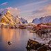 "Sunrise at Reine • <a style=""font-size:0.8em;"" href=""http://www.flickr.com/photos/127903822@N03/31518565584/"" target=""_blank"">View on Flickr</a>"