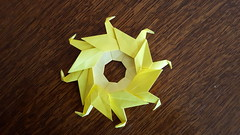 Garland of Ducks (sues4cats) Tags: origami ring modularorigami