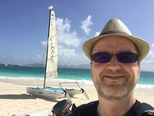 2016-02-01 -- Anguilla - Dune Preserve, Rendezvouz Bay - Best Pirate Bar Ever