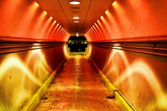 Tunnel !!!! (RASH Photography....) Tags: tunnel station train light red color construction building iselin newjersey nj