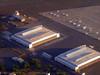 flying into honolulu international (army.arch) Tags: honolulu hawaii hi airplane windowseat hangars tarmac airplanes navalairstationbarberspoint kalaeloaairport