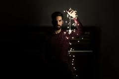 (re)Birth (Riccardo Orsolini) Tags: dark room self portrait lights piano music beard pocket watch mystery magic night nero camera autoritratto ritratto pianoforte musica barba orologio taschino mistero magia notte