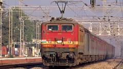 A.C. Express (Ankur™) Tags: new delhi visakhapatnam andhra pradesh ac superfast express traction autofocus indian railways