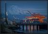 Missing Ship (Ernie Misner) Tags: f8anditstoowindyrightnow portoftacoma tacoma washington erniemisner nikon d800 lightroom nik hdr capturenx2 cranes ship