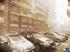 Like The Polo (triziofrancesco) Tags: meteo tempo blizzard neve snow bari triziofrancesco puglia città bufera tormenta fiocchi white
