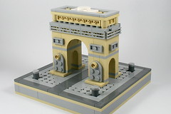 LEGO Arc de Triomphe 2 (xtitus) Tags: lego micro micropolis arcdetriophe paris architecture