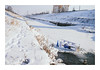 Who needs refrigerator in the winter? (Florin Aioanei) Tags: winter refrigerator river cold ice romania street florin aioanei