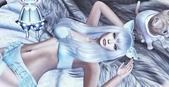♚ 202 ♚ (Luxury Dolls) Tags: candydoll blue cat sintiklia theepiphany thekawaiiproject kawai fetch eyes twop sl blog blogger