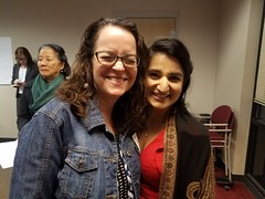 Kathleen Seconder and Aasees Kaur