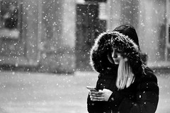 I miss you on a day like this (Zlatko Vickovic) Tags: streetstreetphoto streetphotography streetphotographybw streetbw streetphotobw blackandwhite monochrome zlatkovickovic zlatkovickovicphotography novisad serbia vojvodina srbija snow woman winter