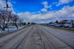 Clouds and Blue Skies (kendoman26) Tags: hdr nikhdrefexpro2 road morrisillinois skies clouds nikon nikond7100 tokinaatx1228prodx tokina tokina1228 openroad