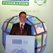 Minister Patrick O'Donovan pictured at the IHF conference in Kilkenny.