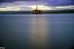 Sun Up (scottishkennyg) Tags: rig oil cromarty firth scotland invergordon rossshire