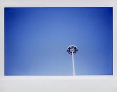 Genova (Valt3r Rav3ra - DEVOted!) Tags: fujiinstaxwide300 fuji instantfilm instantcamera instax analogico film colori valt3r valterravera visioniurbane urbanvisions lampione lamps genova blue blu minimal cielo